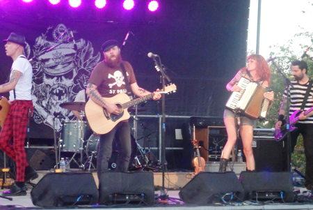 Les Musicales 2015 - The Moorings, Saint Julien en Genevois