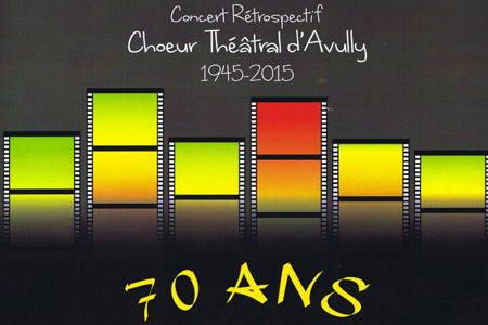 Concert du Choeur Théâtral d\'Avully, Saint Julien en Genevois
